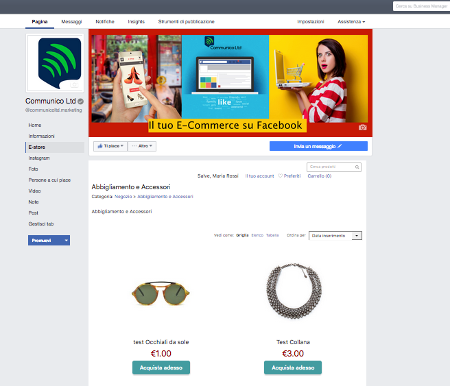e-commerce-su-facebook